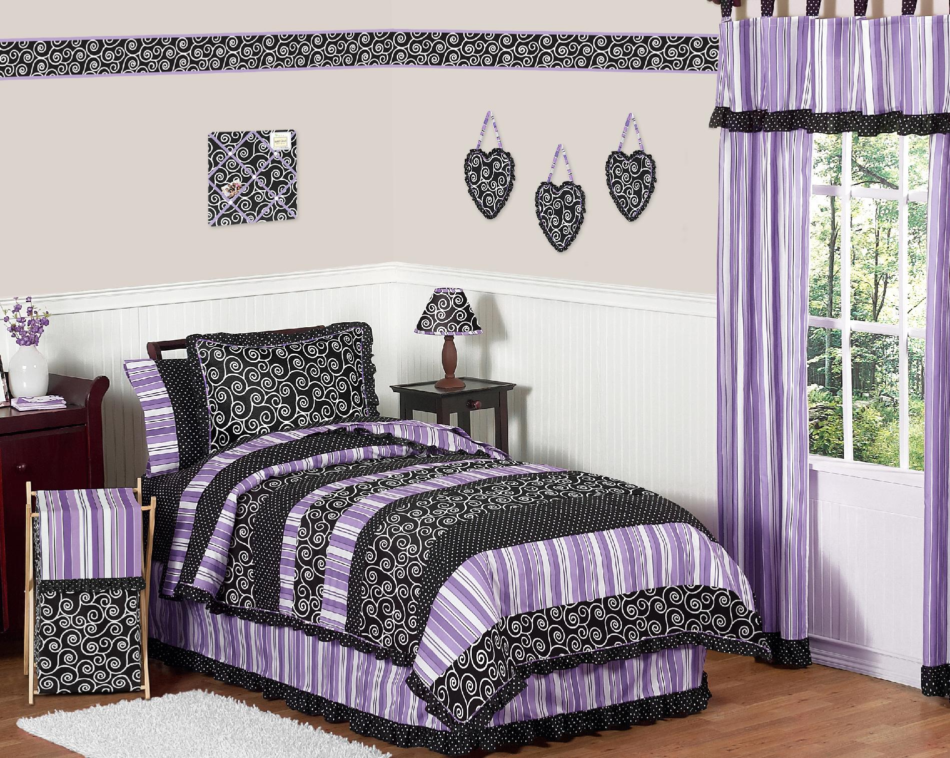 Sweet Jojo Designs Kaylee Collection 3pc Full/Queen Bedding Set