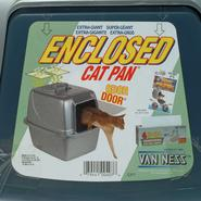 Van Ness Products Enclosed Cat Litter Pan - Large at Kmart.com