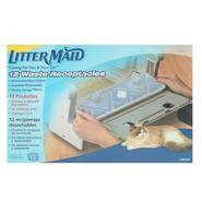 LitterMaid Cat Litter Pan Self-Clean Litterbox Waste Receptacles 12 Pack at Kmart.com