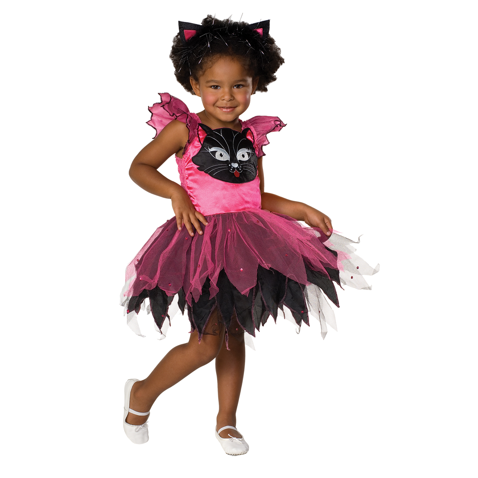sc 1 st  Kmart & Girls Kitty Cat Halloween Costume