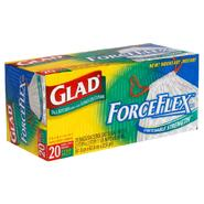 Glad ForceFlex Tall Kitchen Bags, Drawstring, 13 Gallon, 20 bags at Kmart.com