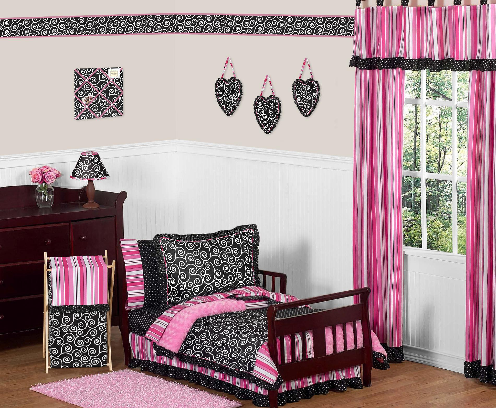 Sweet Jojo Designs Madison Collection 5pc Toddler Bedding Set