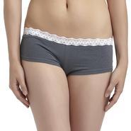 Joe Boxer Women's Lace Trim Boy Short Panties at Kmart.com