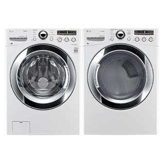 LG-4.0 cu. ft. Front-Load Washer & 7.3 cu. ft. Dryer Bundle