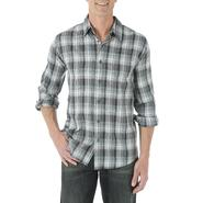 Wrangler Men's Woven Long-Sleeve Shirt - Plaid at Kmart.com