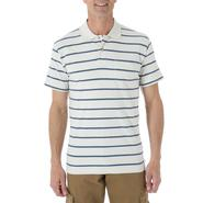 Wrangler Men's Knit Polo Shirt - Striped at Kmart.com