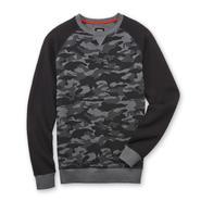 Always Push Forward Men's Crew Neck Sweatshirt - Camouflage at Kmart.com
