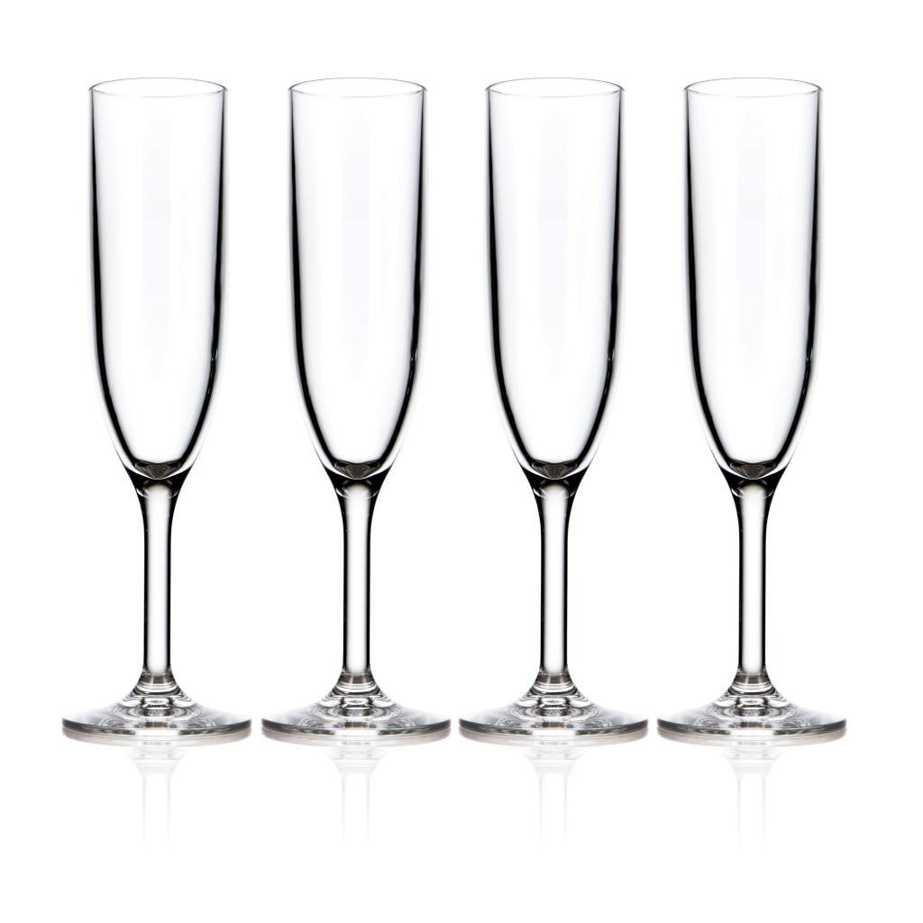 Drinique Unbreakable Champagne Flute 6oz., 4pk PartNumber: 02472198000P KsnValue: 8589528 MfgPartNumber: DRQ01157