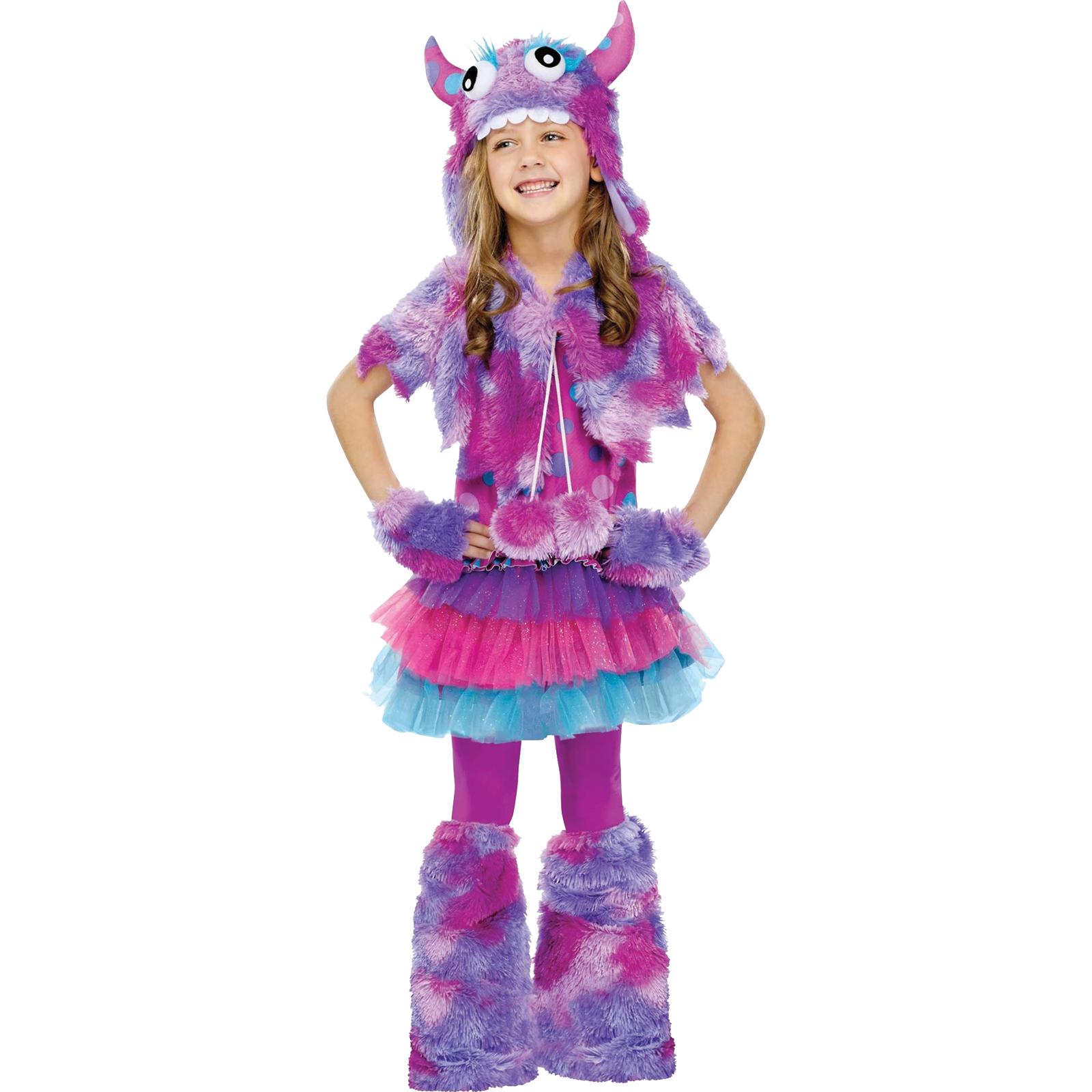 Girls Polka Dot Monster Halloween Costume PartNumber: 3ZZVA75514312P MfgPartNumber: FW123252SM