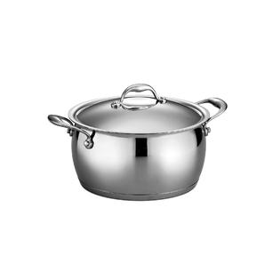 Tramontina Gourmet Domus 18/10 Stainless Steel 6 Qt Covered Sauce Pot