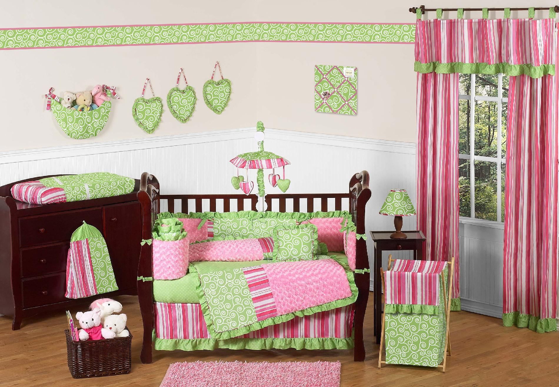 Sweet Jojo Designs Olivia Collection 9pc Crib Bedding Set
