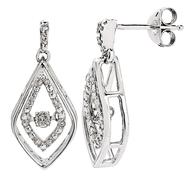 Enchanted Brilliance .15ct tw Diamond Earrings at Sears.com