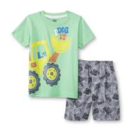 Kids Headquarters Toddler Boy's Graphic T-Shirt & Shorts - Trucks at Sears.com