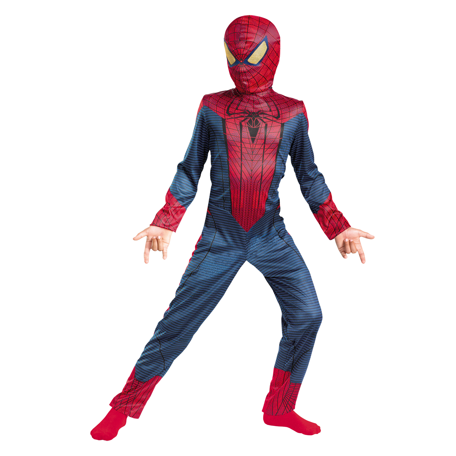 Boys Spiderman Movie Classic Halloween Costume PartNumber: 3ZZVA75756612P MfgPartNumber: DG42471L