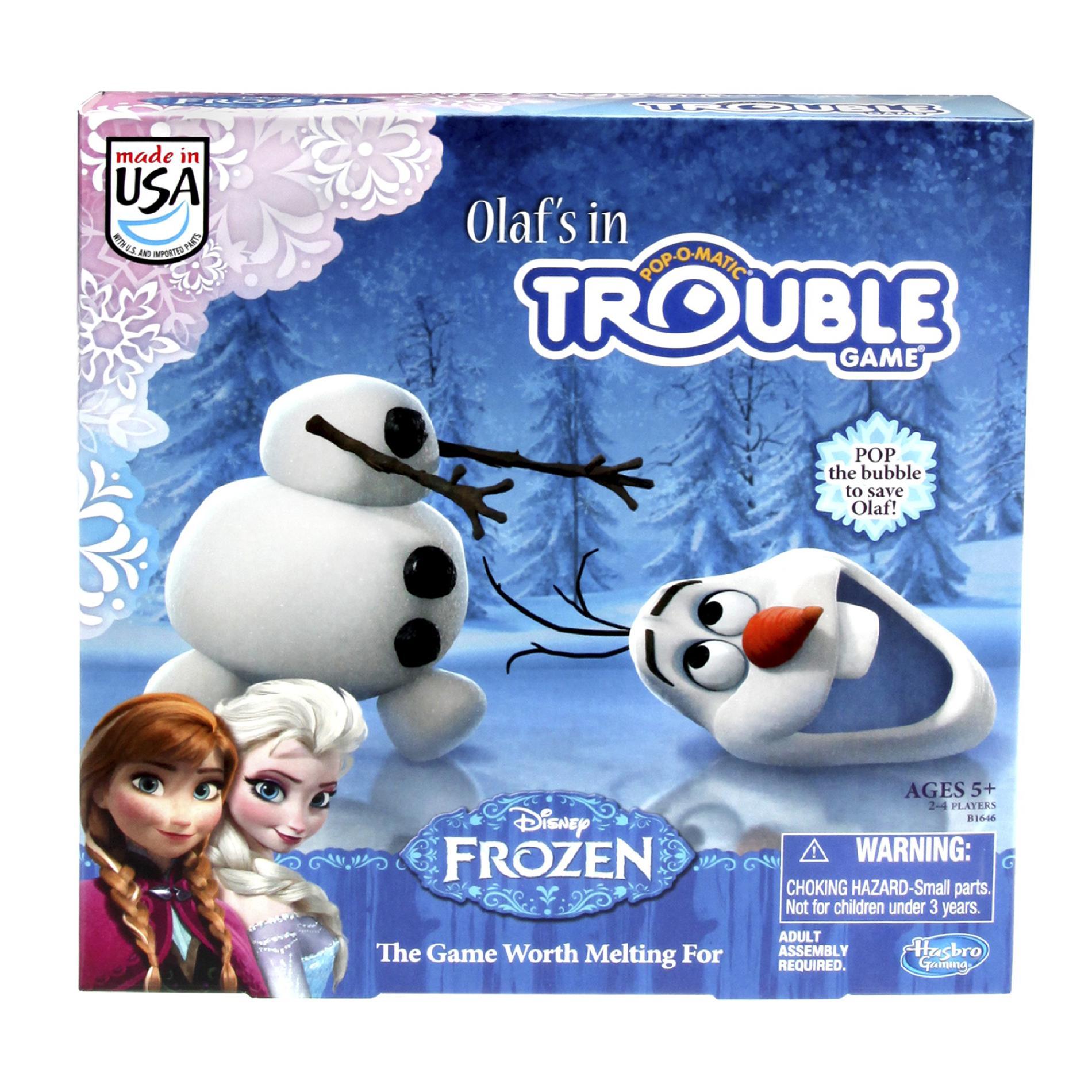Disney Frozen Olaf's in Trouble Game PartNumber: 004W008377585001P KsnValue: 8377585 MfgPartNumber: B16460000