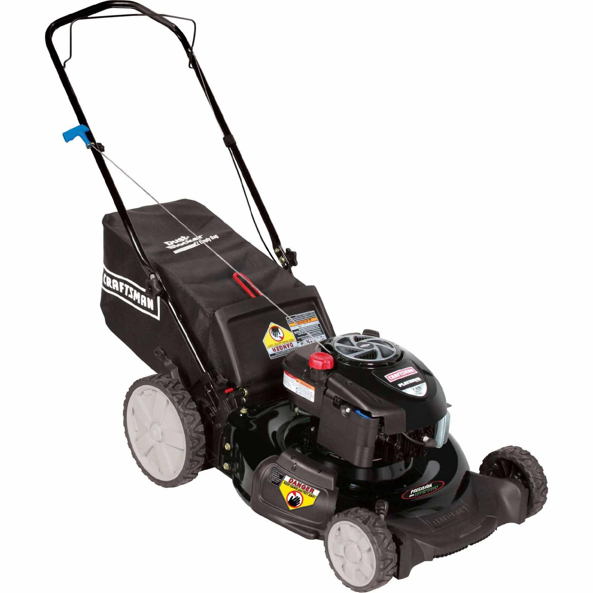 Craftsman 190cc* Briggs & Stratton Engine, High Wheel Rear Bag Push Mower