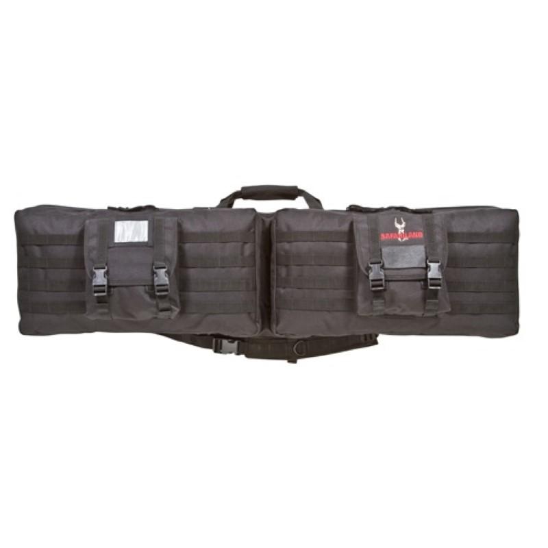 safariland Model 4556 3-Gun Competition Case Black PartNumber: 00676366000P KsnValue: 8627160 MfgPartNumber: 4001155