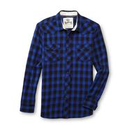 Roebuck & Co. Young Men's Flannel Western Shirt - Plaid at Sears.com