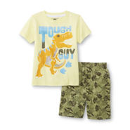 Kids Headquarters Toddler Boy's Graphic T-Shirt & Shorts - Dinosaurs at Sears.com