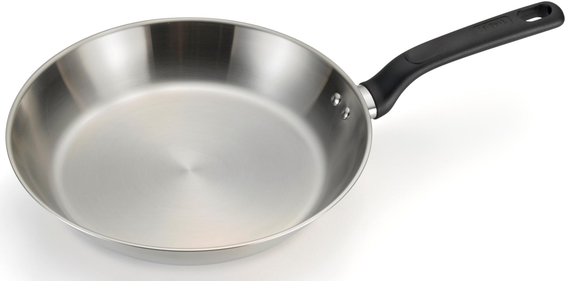 T-fal Excite Stainless Steel 10-Inch Fry Pan