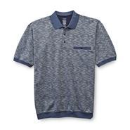 David Taylor Collection Men's Big & Tall Jacquard Knit Polo Shirt at Sears.com