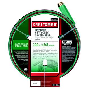 Craftsman Heavy Duty Neverkink® Self-Straightening Hose - 100 ft.