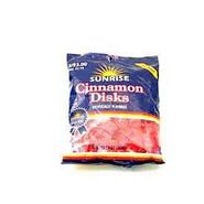 Sunrise Disks Bites Cinnamon 13 Ounce Bag at Kmart.com