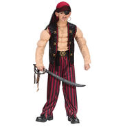 Boys Muscle Pirate Halloween Costume at Kmart.com