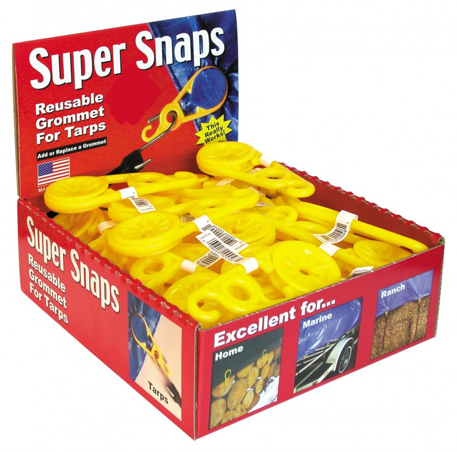Byers Super Snaps 48-pc Box