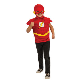 Boys Flash Muscle Shirt Halloween Costume