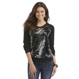 Bongo Junior's Terry-Knit Sweatshirt - Sequins at Sears.com