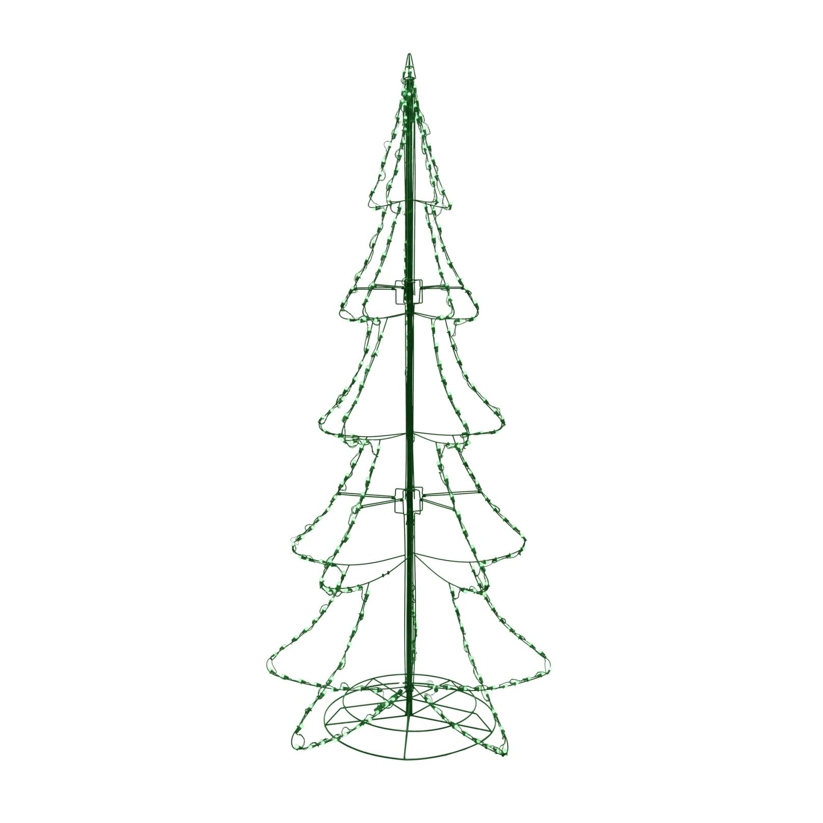 santas upc 030075615595 product image for 8 outdoor silhouette christmas tree upcitemdbcom