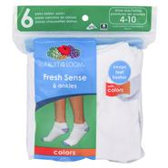 Fruit of the Loom Women's Ankle Crew/Fresh Sense Socks - 6 Pair at Sears.com
