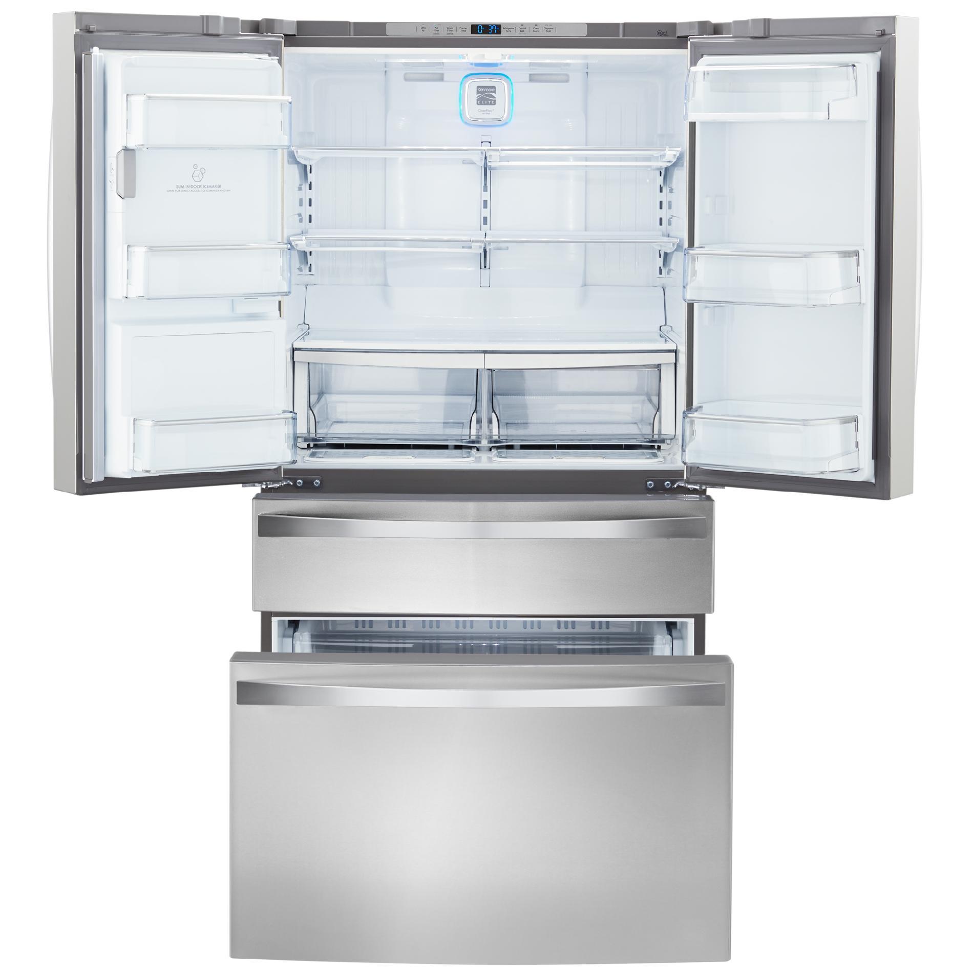 Kenmore Elite Kenmore Elite 72483 29.9 Cu. Ft. 4 Door Bottom Freezer