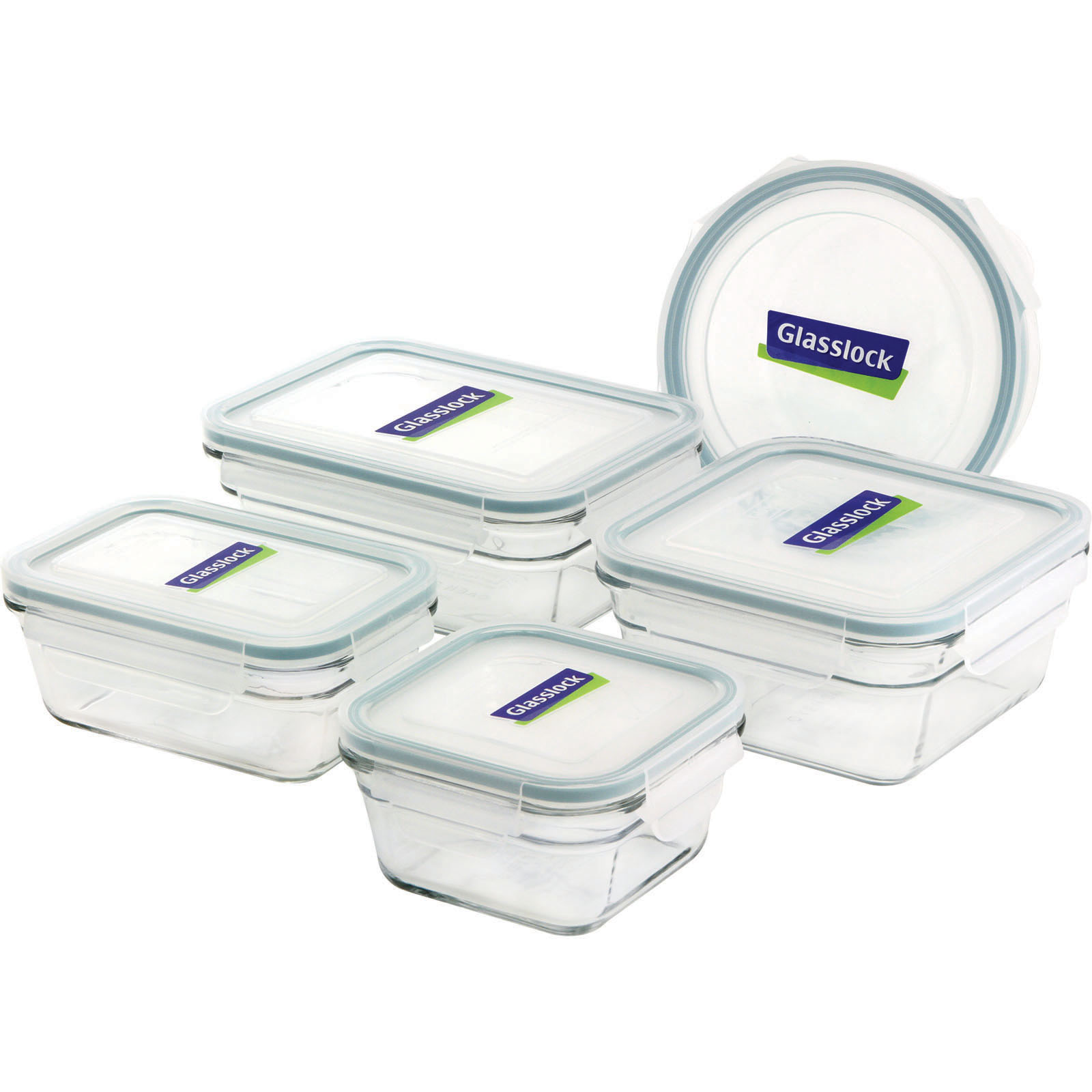 GlassLock Oven Safe 10pc box set Food Grocery Food Storage