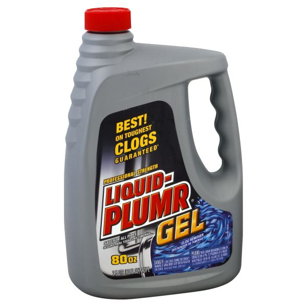Liquid-Plumr Professional Strength Clog Remover Gel, 80 fl oz (2.5 qts) 2.37 lt im test