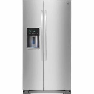 Kenmore 21 cu. ft. Side-by-Side Refrigerator - Stainless Steel