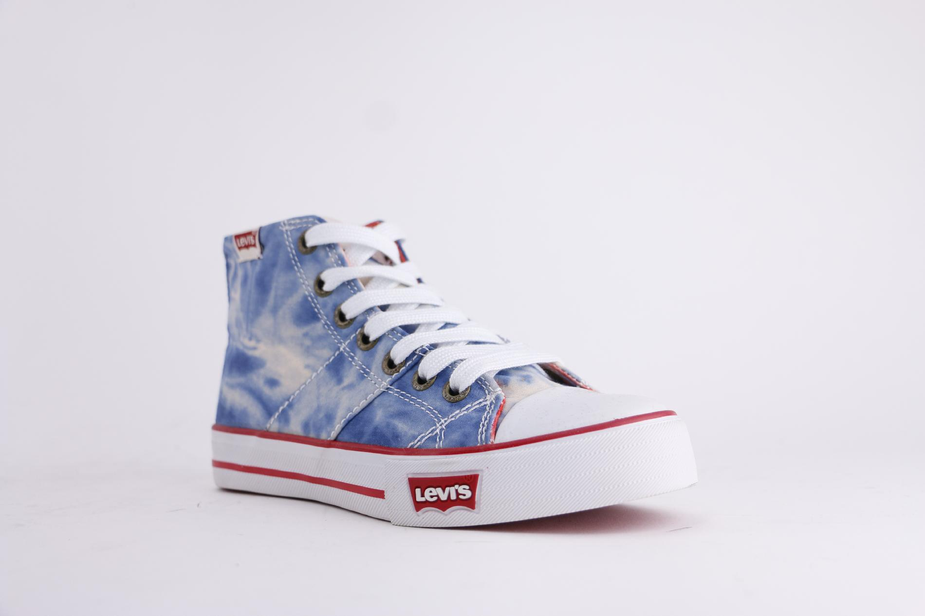 Levi's Toddler Boy's Hamilton Tie Dye Blue Sneaker
