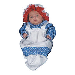 morris costumes youth raggedy ann bunting