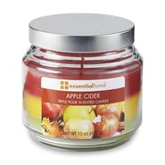 Essential Home 15-Ounce Triple-Pour Scented Candle - Apple Cider at Kmart.com