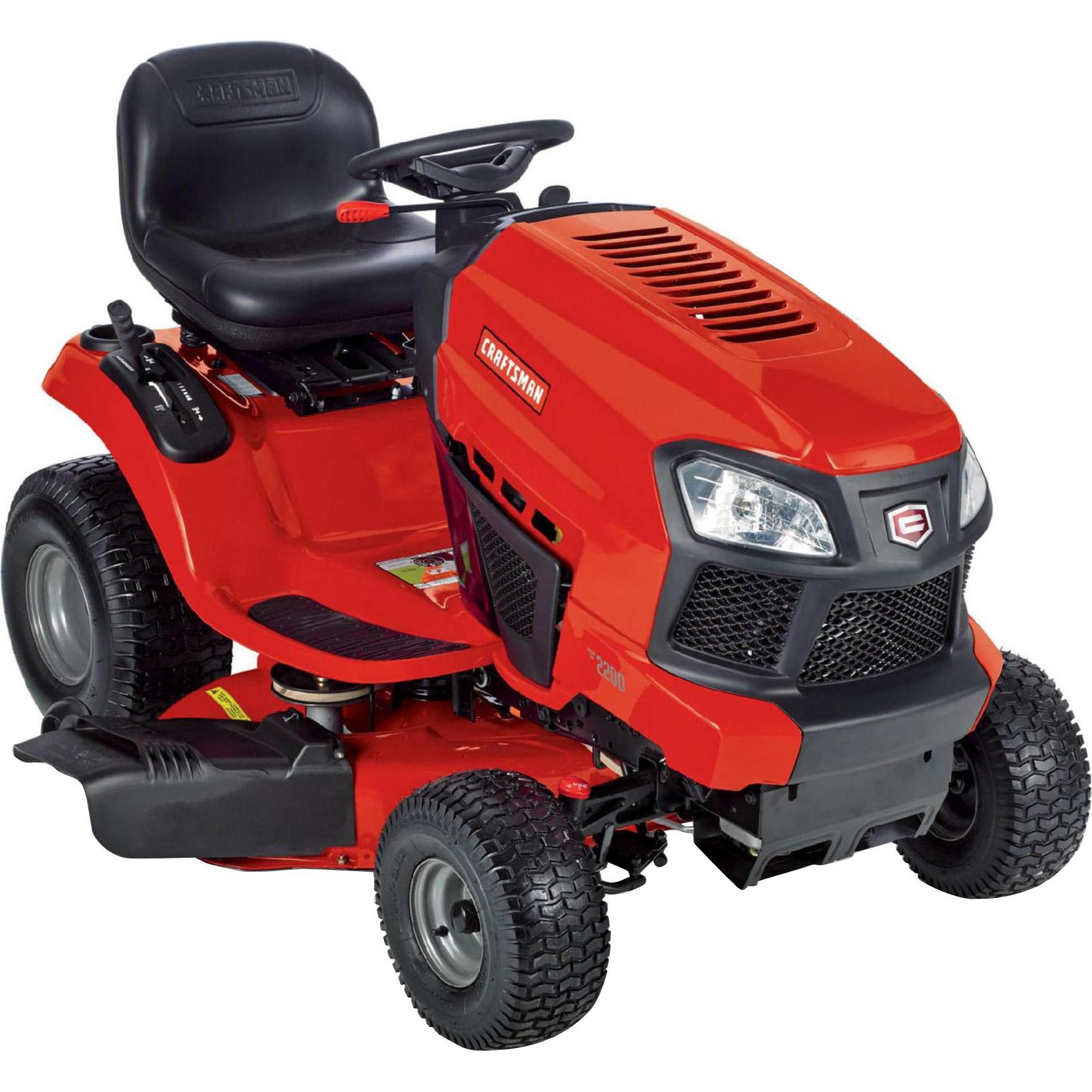 "Image of ""Craftsman 20381 42"""" 19 HP Briggs & Stratton Hydrostatic TurnTight Riding Mower"""