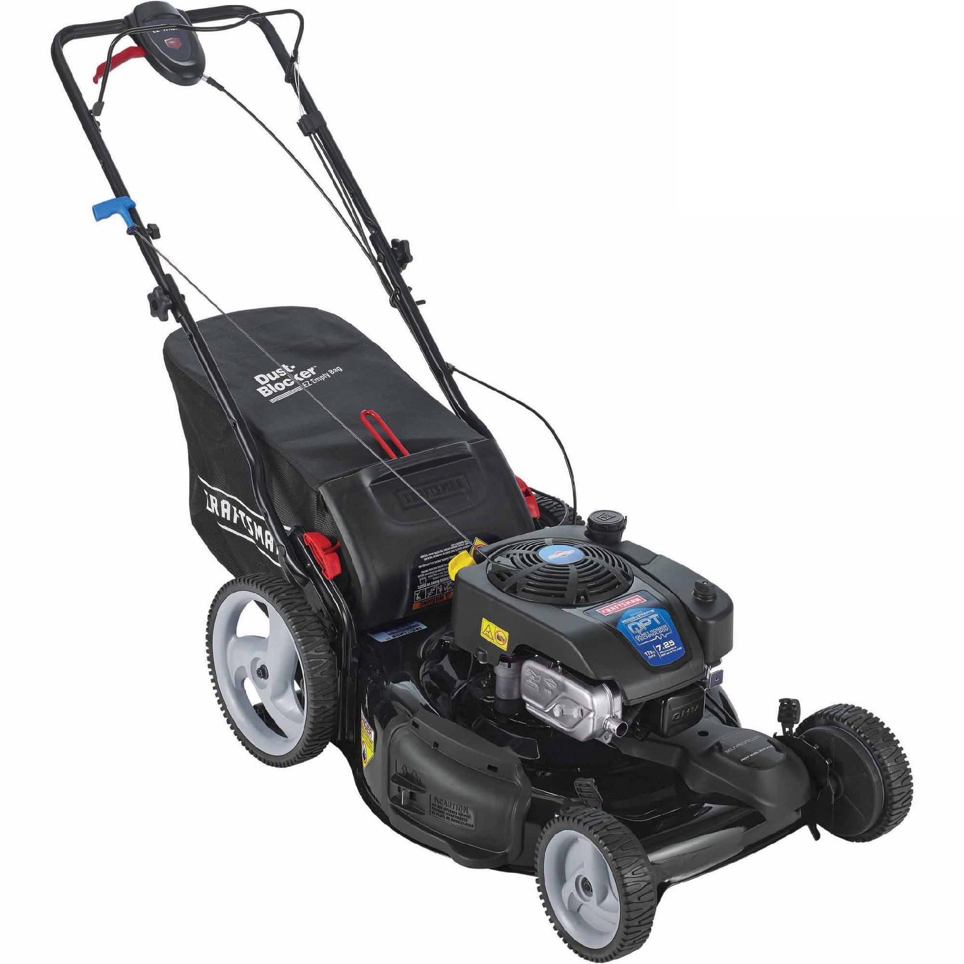 Craftsman 175cc OHV Briggs & Stratton Quiet Power Technology Engine, 22 Front Drive Self-Propelled Lawn Mower