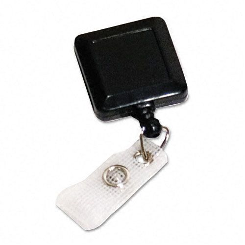 Square Retractable ID Card Reel