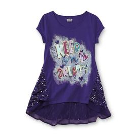 Route 66 Girl's Embellished Graphic T-Shirt - Keep On Dreaming at Kmart.com