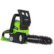"Greenworks G-24 10"" 24V Cordless Chainsaw (tool only) at Kmart.com"