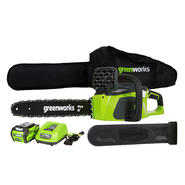 "Greenworks GMAX 16"" 40V Cordless DigiPro Chainsaw, (1) 4Ah Battery, Charger at Kmart.com"