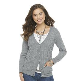 Seventeen Junior's Cable Knit Cardigan at Sears.com