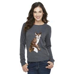 Route 66 Women's Sequin Sweatshirt - Fox at Kmart.com