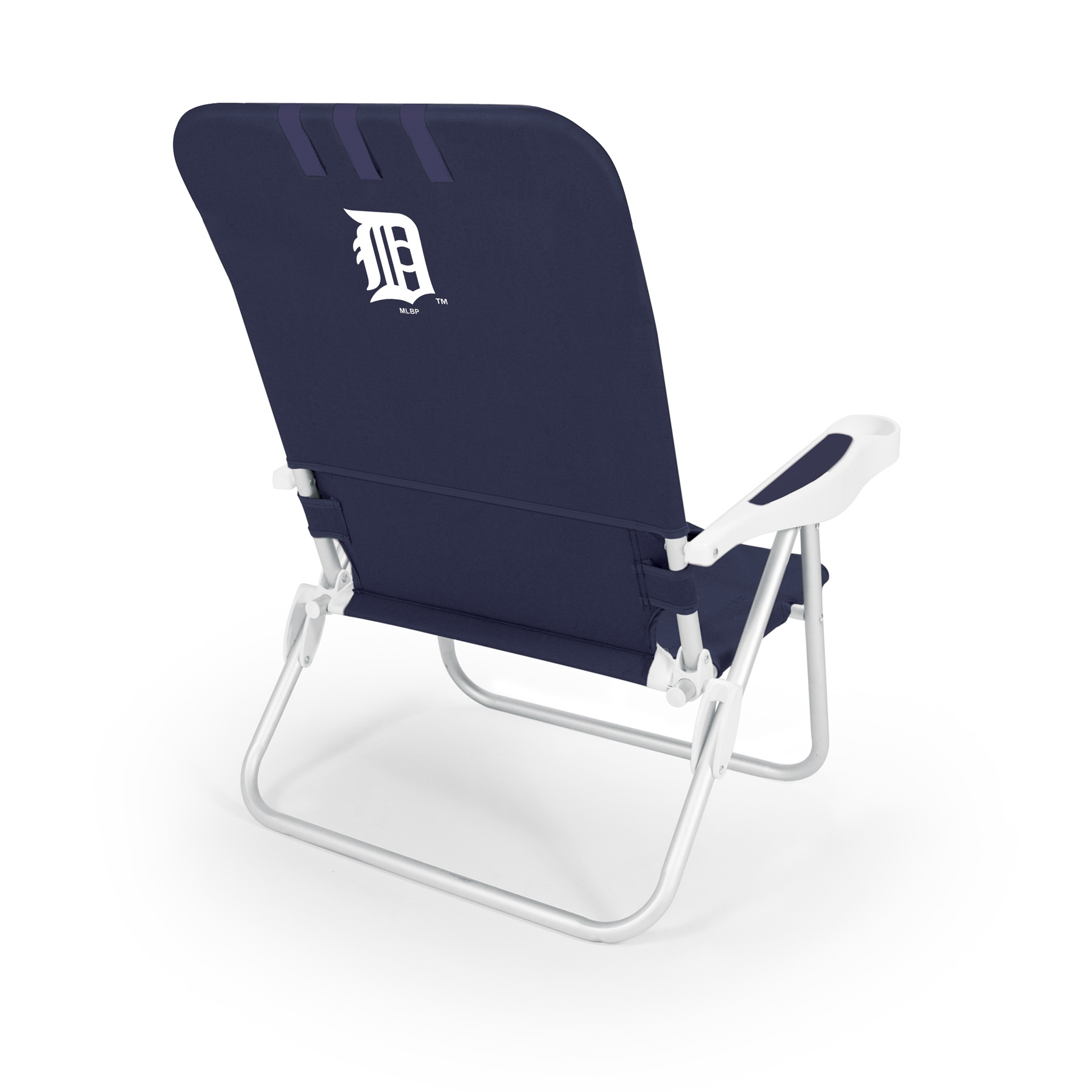Picnic Time Monaco Beach Chair - MLB - Navy