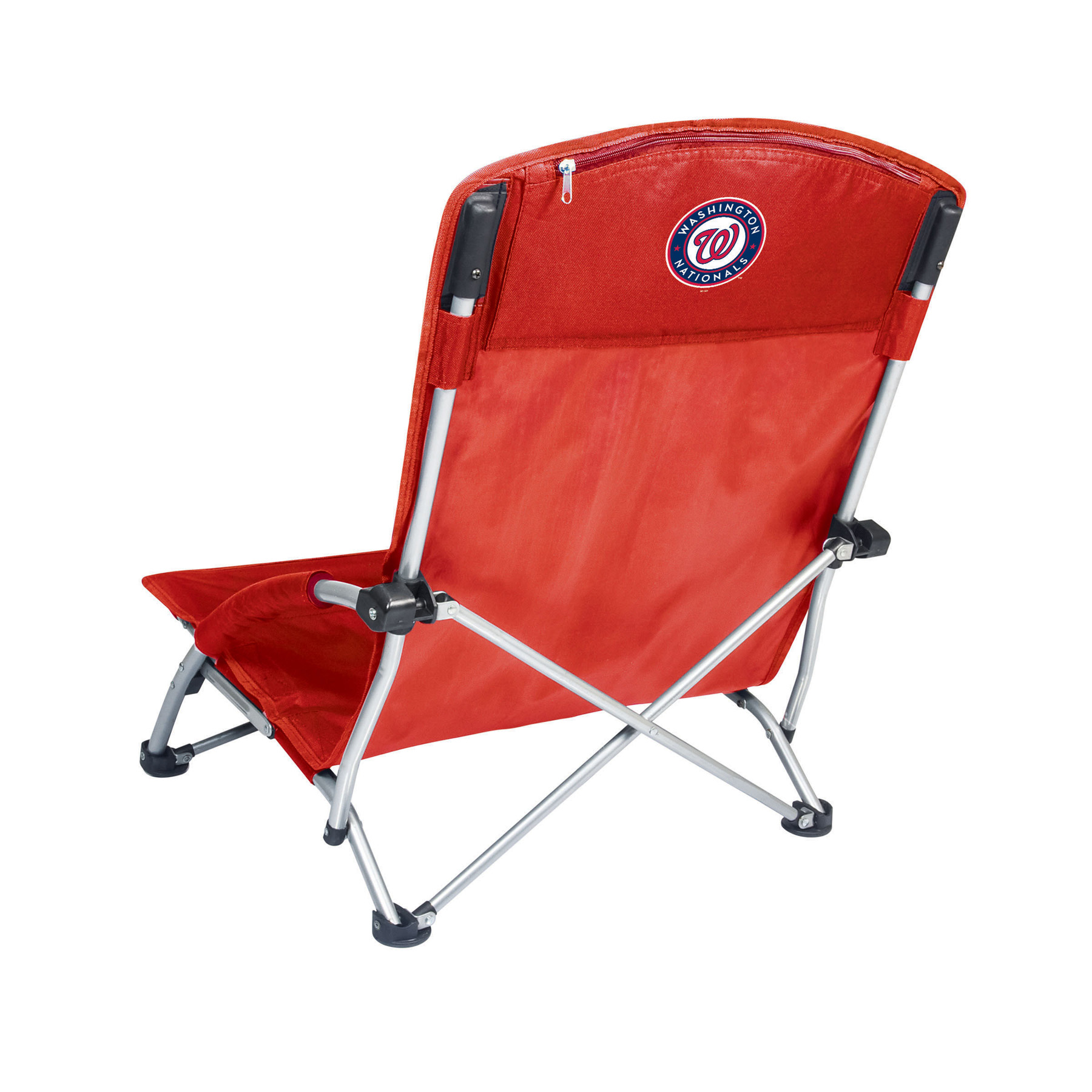 Picnic Time Tranquility Chair - MLB - Red